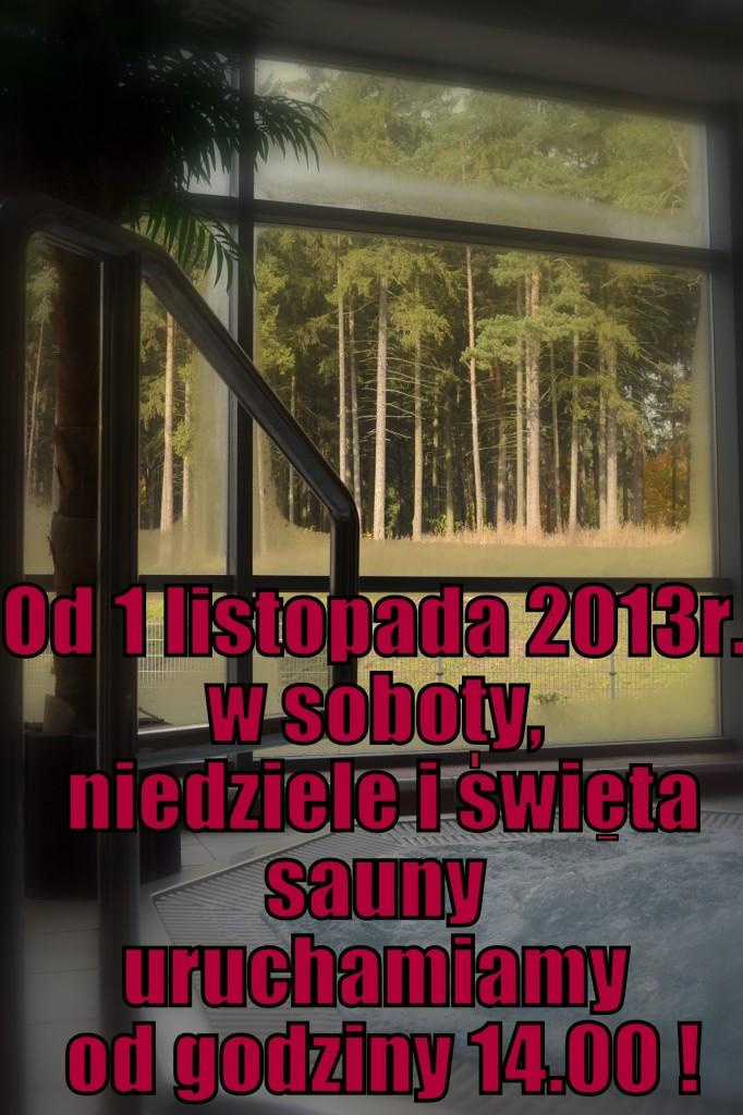 sauny promocja 2